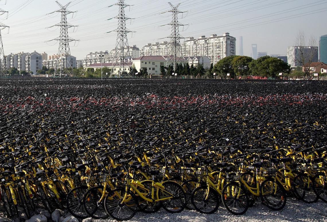 Bike sharing in Cina photography_04