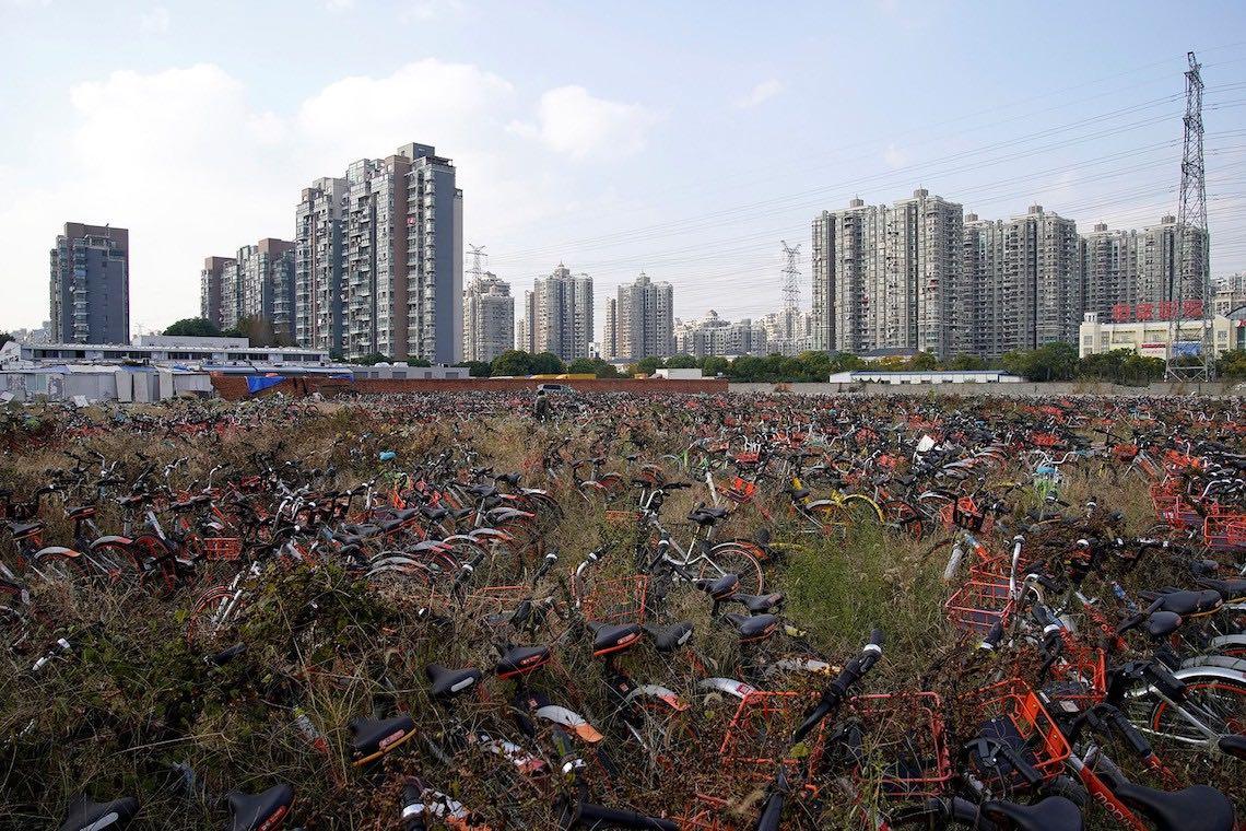 Bike sharing in Cina photography_05