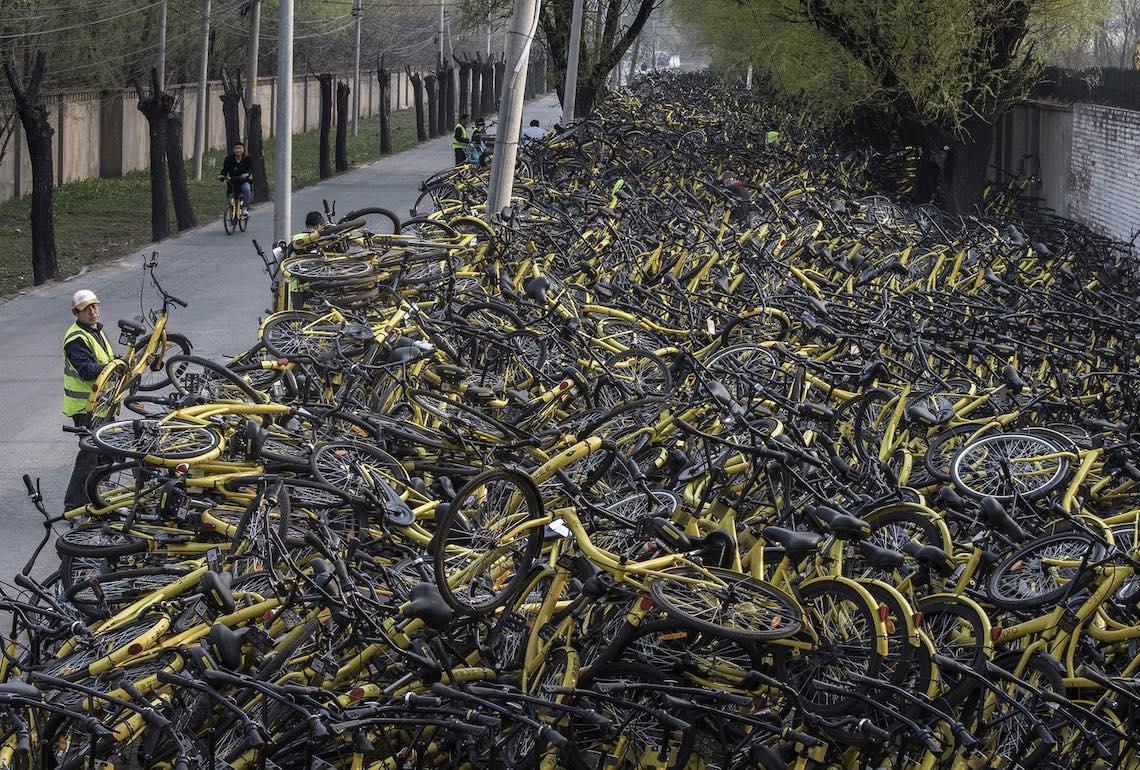 Bike sharing in Cina photography_06