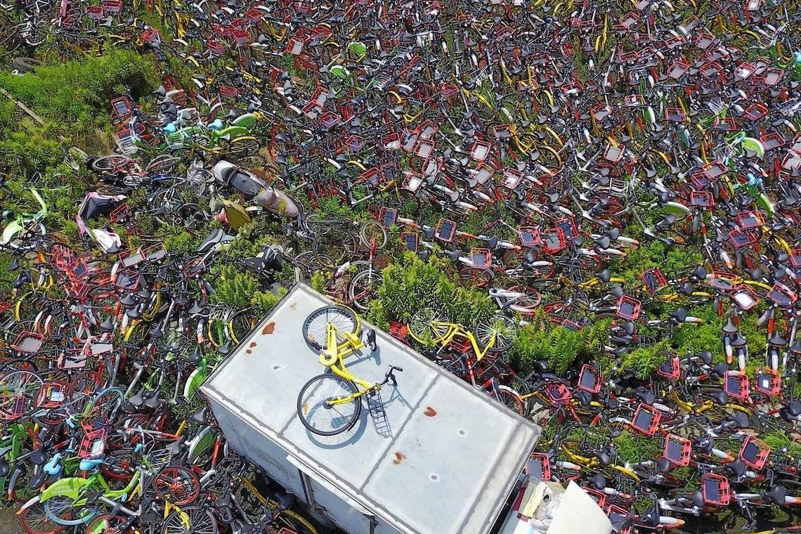 Bike sharing in Cina photography_09