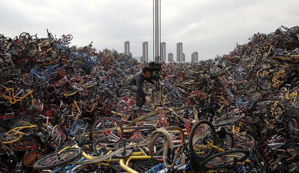Bike sharing in Cina. Immagini di una storia recente