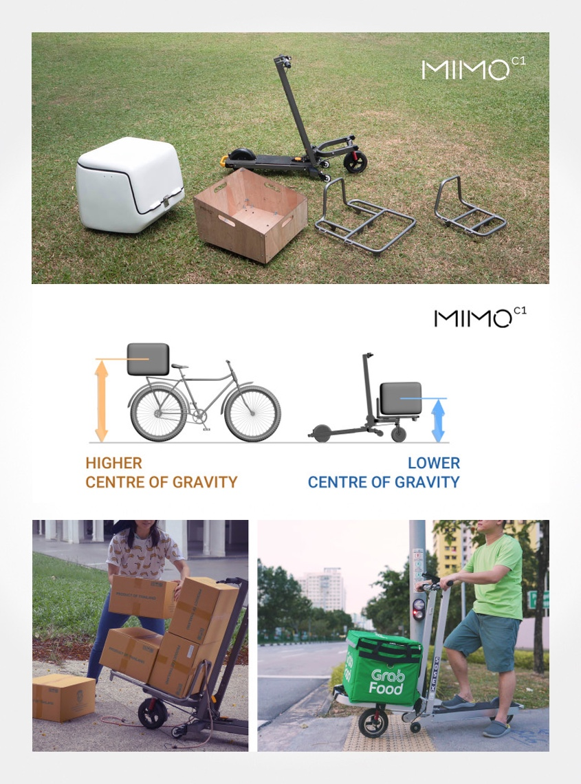 MIMO C1_cargo_e-scooter_all_in_one_urbancycling_it_3