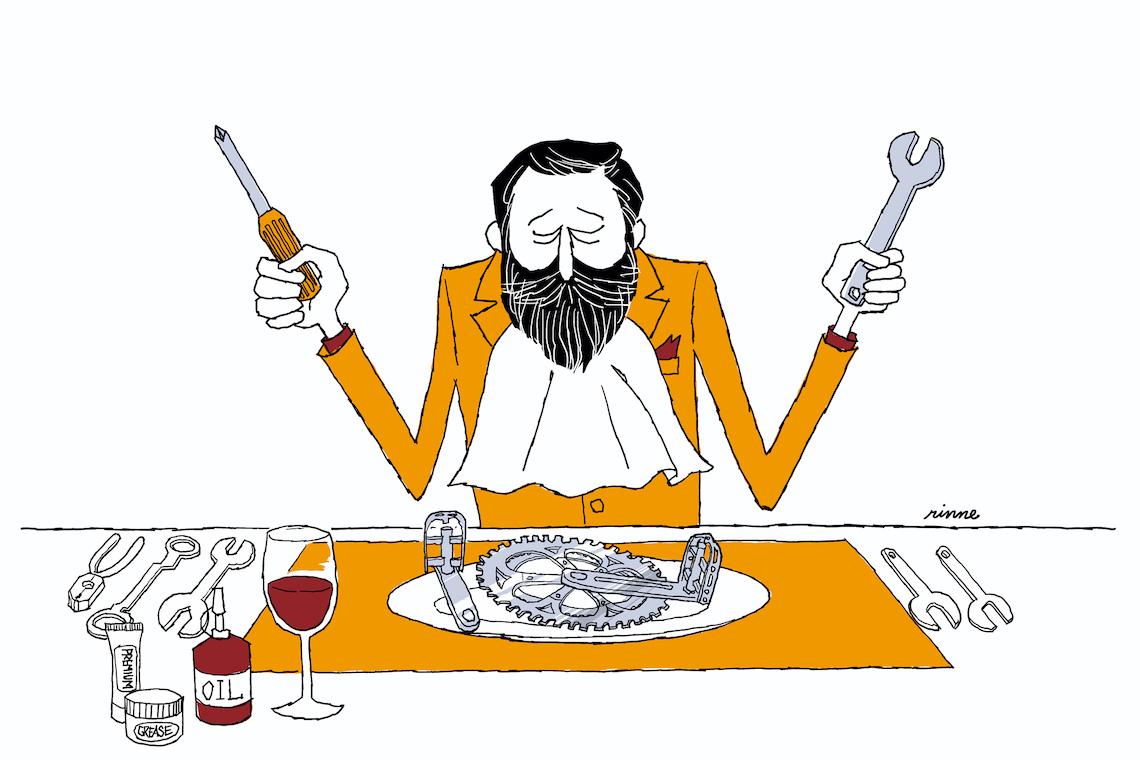 Rinne_Le illustrazioni di Tetsuro Ohno_Dinner