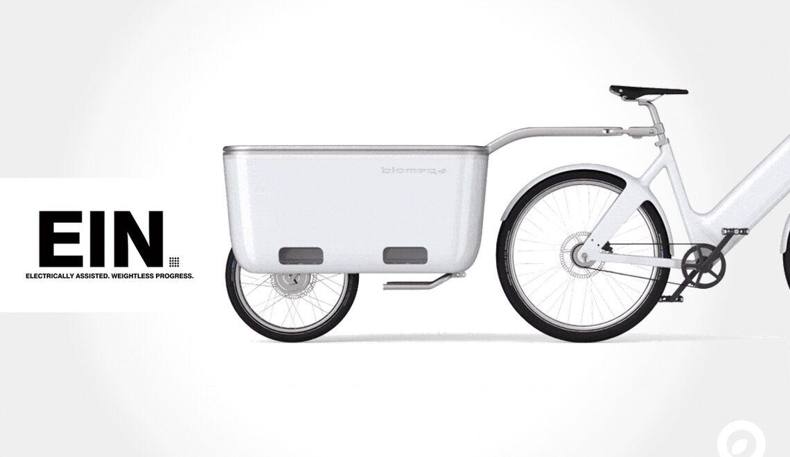 Biomega EIN. Il primo carrello elettrico per la bici