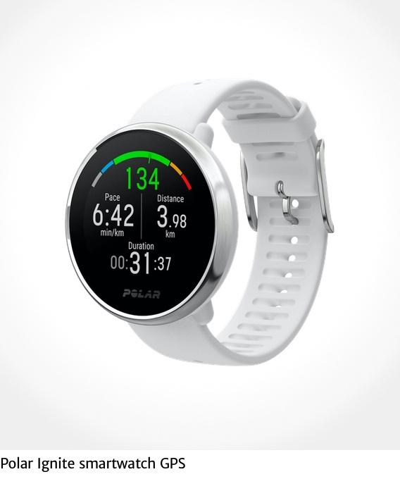 Polar Ignite smartwatch GPS_urbancycling_it