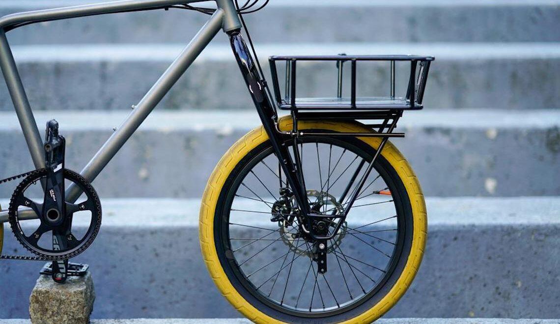 Sleeper Bike. La minivelo in titanio di CW&T
