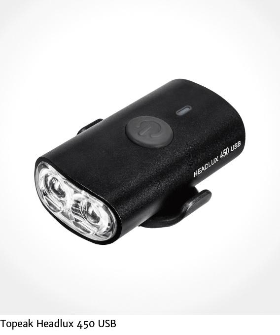 Topeak Headlux 450 USB_urbancycling_it