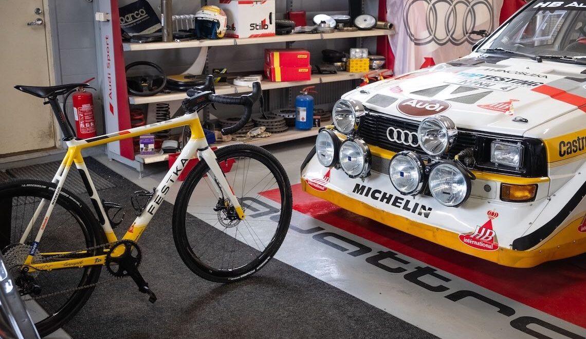 Festka Rover. La gravel bike custom che ama il rally