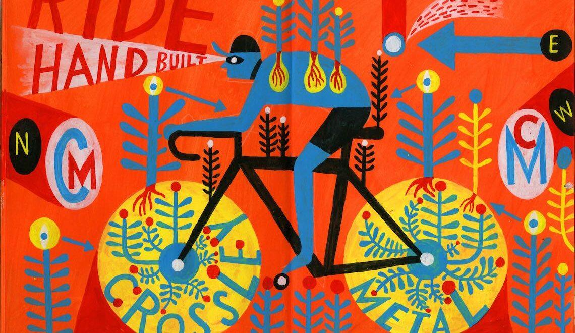 L'arte di Russell Cobb. FSR Cycle Team Identity