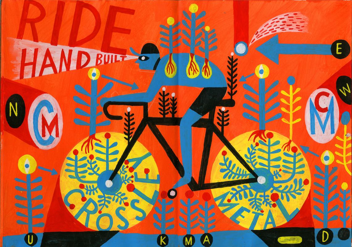 Russel Cobb_illustration_FSR Cycle Team Identity_2
