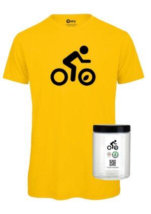 #opendressride_t-shirt_Gold_002_Ciclista_ nero_barattolo