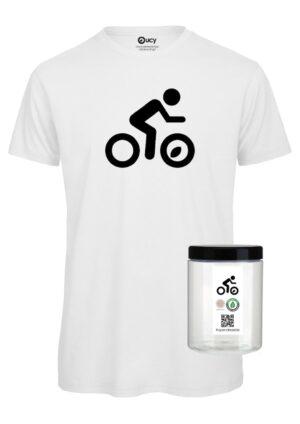 #opendressride_t-shirt_White_003_Ciclista_ nero_barattolo
