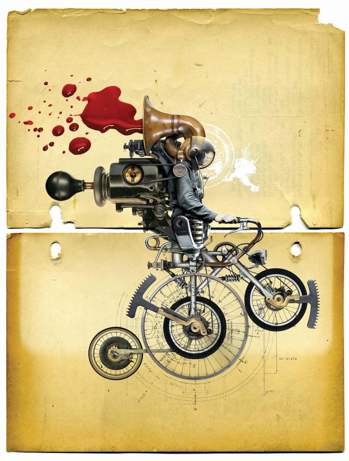 Viktor Koen Manifesto BikeArt Exhibition 2016